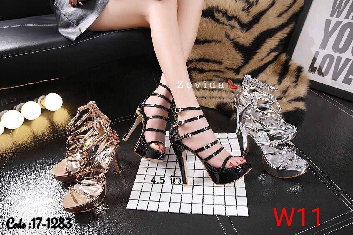 รองเท้าแฟชั่น Zevida ส้นสูง 5 นิ้ว