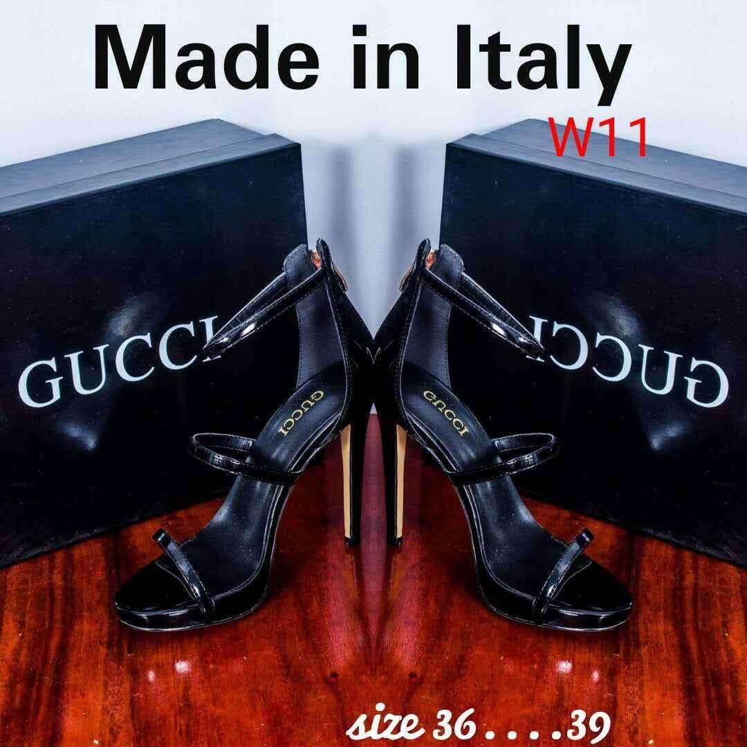 รองเท้าแฟชั่น ส้นสูง Gucci Made in Italy