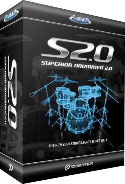 Toontrack Superior Drummer v2.0