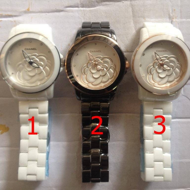 นาฬิกาข้อมือ Chanel J12 Flower Limited Edition 2013 ขาว ดำ