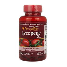 Puritan's Pride Lycopene 40mg (60 Softgels) ผลิตภัณฑ์เสริมอาหารสารสกัดจากไลโคปีน อุดมด้วยสารต้านอนุมูลอิสระที่ทรงประสิทธิภาพ ช่วยบำรุงร่างกายพร้อมฟื้นฟูผิวสวยสุขภาพดี จากภายในสู่ภายนอก สำเนา