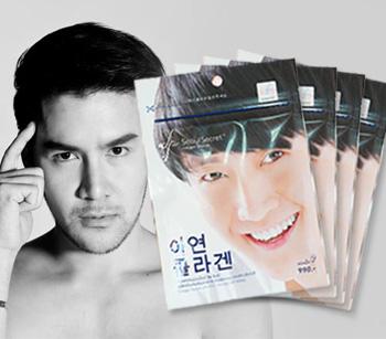 Seoul Secret For Men with ZINC คอลลาเจนสำหรับผู้ชาย ผสมซิงก์ มากกว่า สิ่งที่ผู้ชายต้องการ คอลลาเจนเม็ดทานง่ายไม่คาว