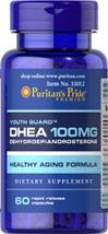 Puritan's Pride - DHEA 100 mg 60 Capsules