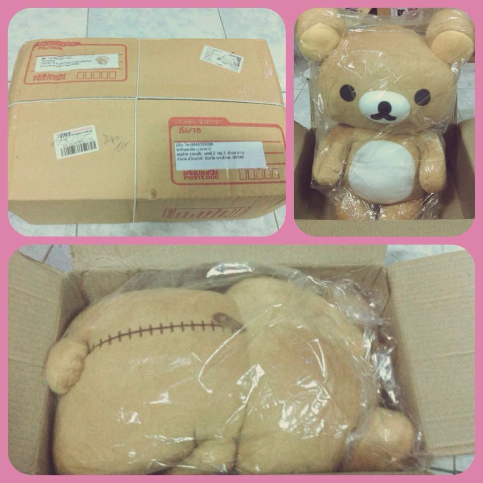 ตุ๊กตาหมี ริลัคคุมะ Rilakkumako น่ารัก ราคาถูก
