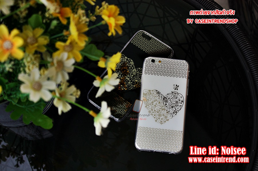 เคส iPhone 5/5s - TPU Heart