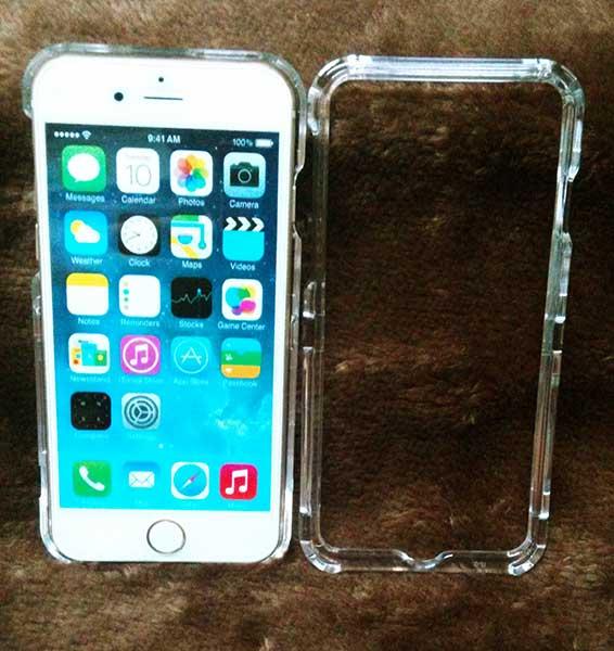 เคสประกบหน้าหลัง เคสประกบใส iPhone 6 Plus