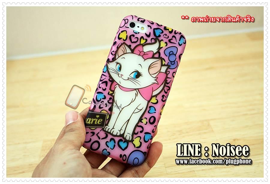 สiphone5c - tpu ลายการ์ตูน แมวมารี