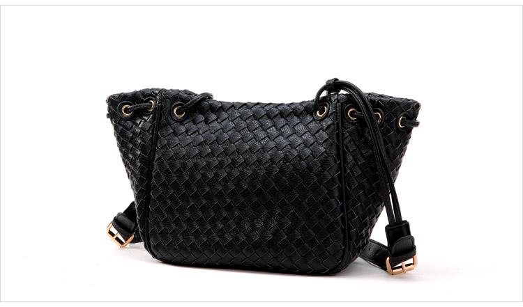 Axixibag กระเป๋าสะพายสานทั้งใบสีดำสวยน่าใช้มากค่ะ