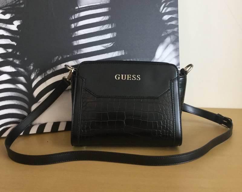 GUESS CROC SHOULDER BAG