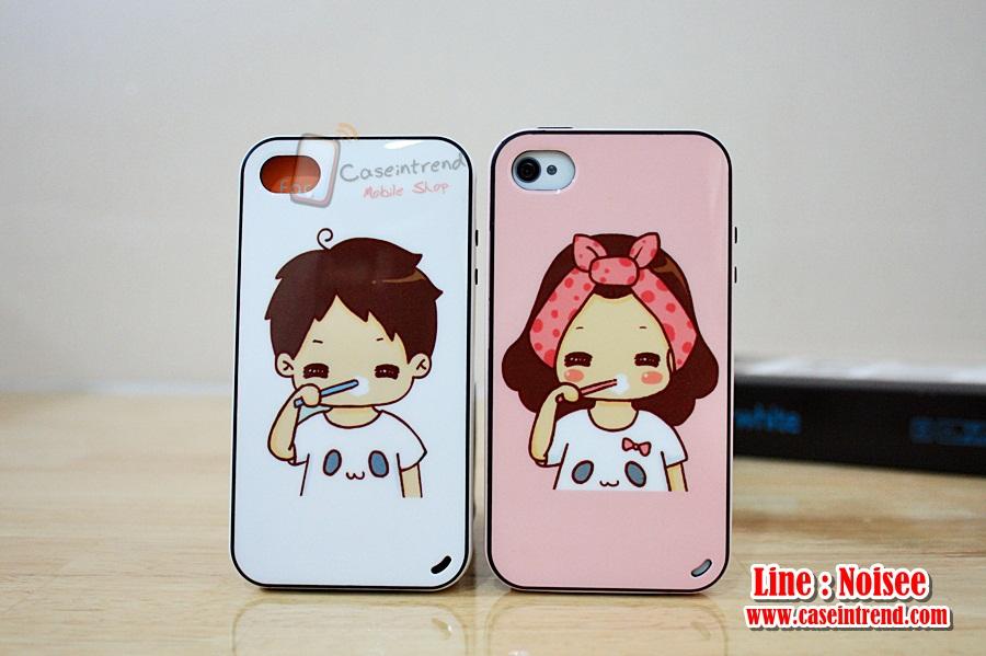 เคส iPhone4/4s iFace คู่รัก