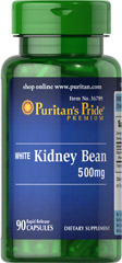 Puritan's Pride - White Kidney Bean 500 mg 90 Capsules