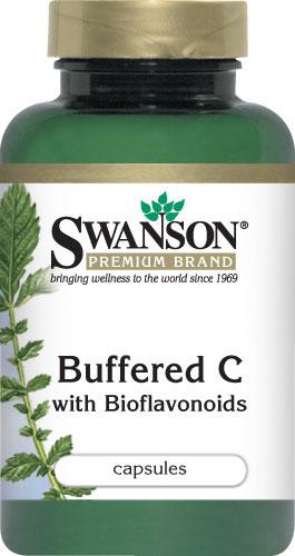Swanson Vitamins - Buffered C with Bioflavonoids 100 Capsules