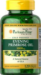 Puritan's Pride Evening Primrose Oil 1000 mg 120 Softgels