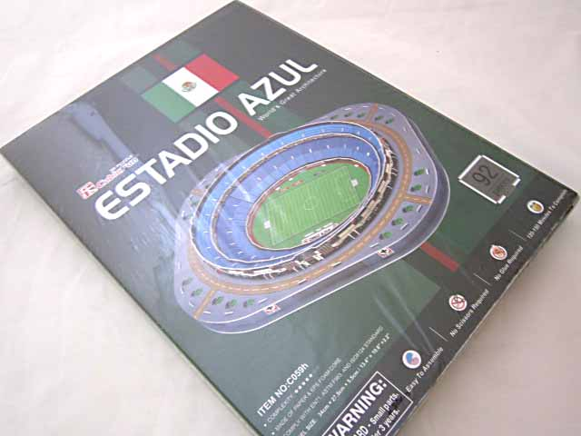 จิ๊กซอ 3 มิติ สนามกีฬาเอสตาดิโอ(Estadio Azul)(No.C059h)