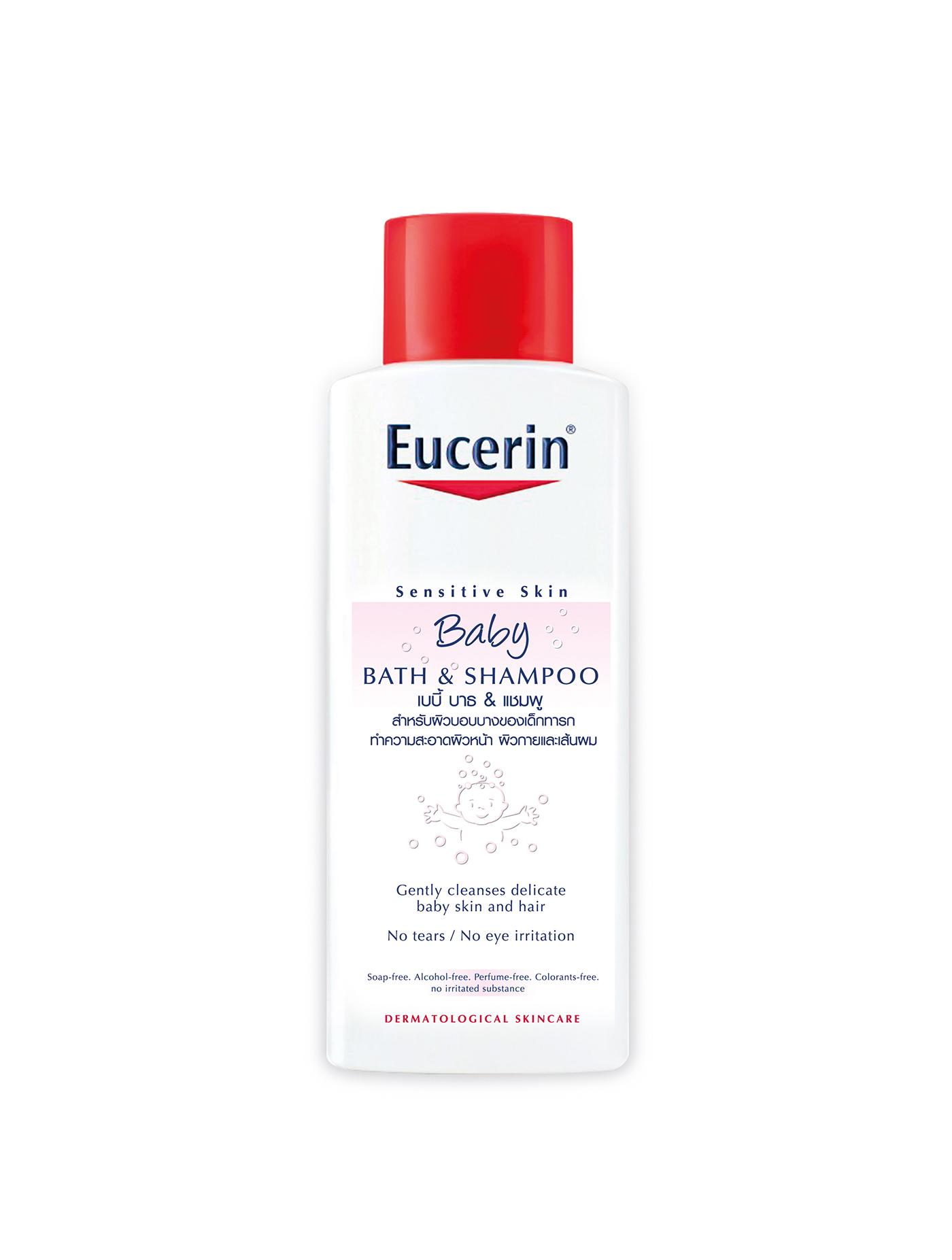 ผลิตภัณฑ์ทำความสะอาดผิวและเส้นผมสำหรับเด็ก Eucerin ขนาด 250 มล.