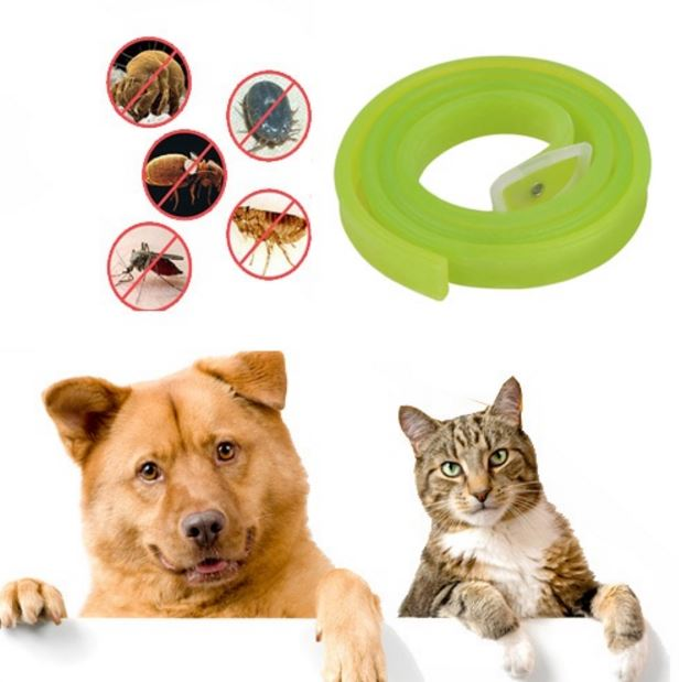 dooda ปลอกคอ สุนัข แมว ไล่เห็บ หมัด ไร และยุง สีเขียว