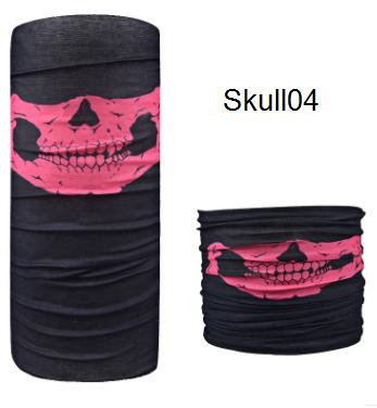 ผ้าบัฟกะโหลก Skull04