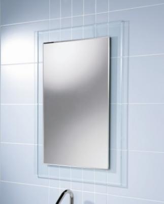 กระจกอะคิลิคติดผนัง ขนาด 60x80cm กระจกอะครีลิค กระจกห้องรับแขก กระจกห้องน้ำ กระจกห้องเด็ก