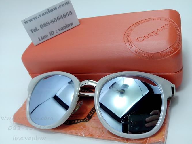 แว่นกันแดดแฟชั่น S965 53-17-135 C8 <ปรอทเงิน>