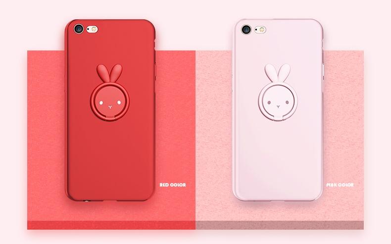 (693-003)เคสมือถือไอโฟน Case iPhone7/iPhone8 เคสนิ่ม Lovely Rabbit