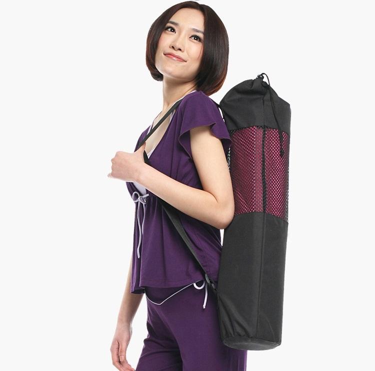 กระเป๋าเสื่อโยคะแบบตาข่ายพร้อมส่ง