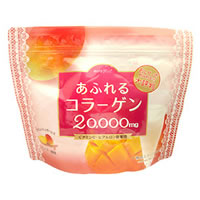 คอลลาเจนจากประเทศญี่ปุ่น 20000 mg.ผสมไฮยารูรอนกับวิตามินซี อร่อยห่อใหญ่ 250กรัม ผิวขาวใส หน้าเด็ก