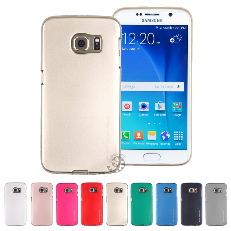 Samsung Galaxy S7 - เคส TPU i-Jelly Metal Case by GOOSPERY (Mercury) แท้
