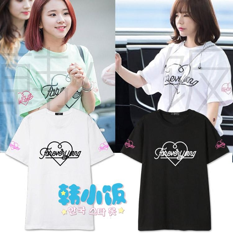 เสื้อยืด Foreveryoung Sty.Twice -ระบุสี/ไซต์-