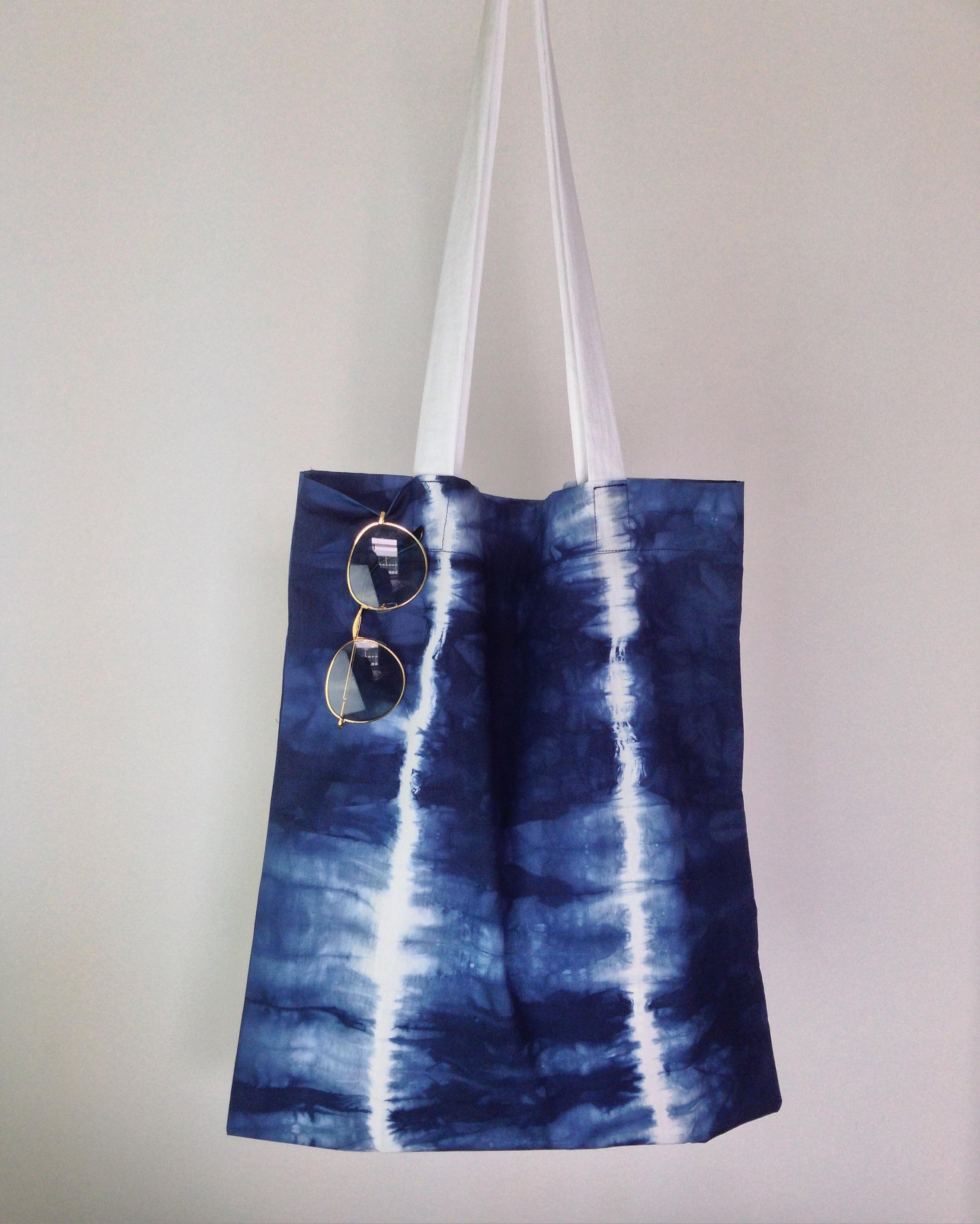 กระเป๋าผ้าฝ้ายมัดย้อม 004