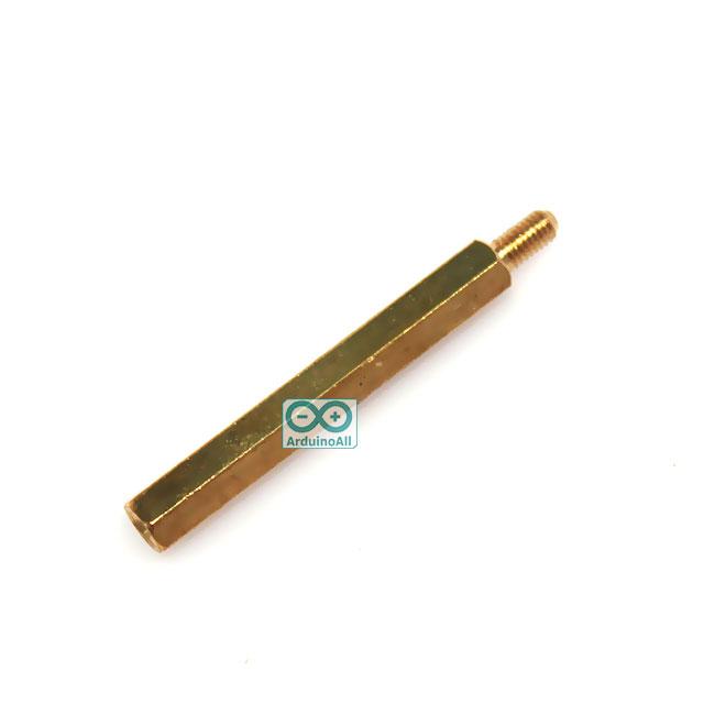 Pillars Nut M3 น็อต ทองเหลืองแบบยาว 41mm 35+6mm