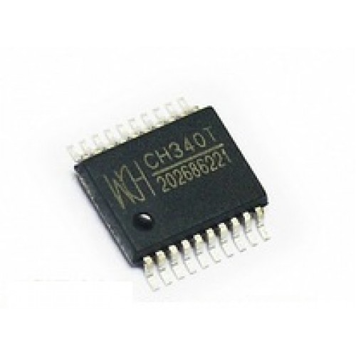 CH340T IC เบอร์ CH340T USB Serial Port Chip