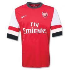 เสื้อทีมเหย้า Arsenal ฤดูกาล 2012 -2013
