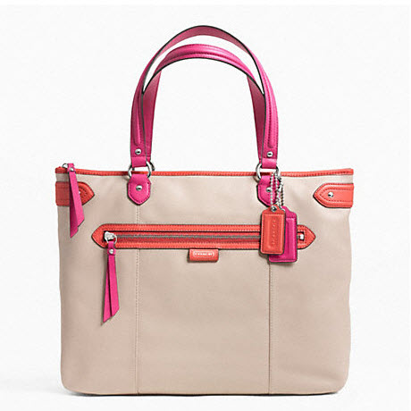 COACH DAISY SPECTATOR LEATHER EMMA TOTE style: F23922