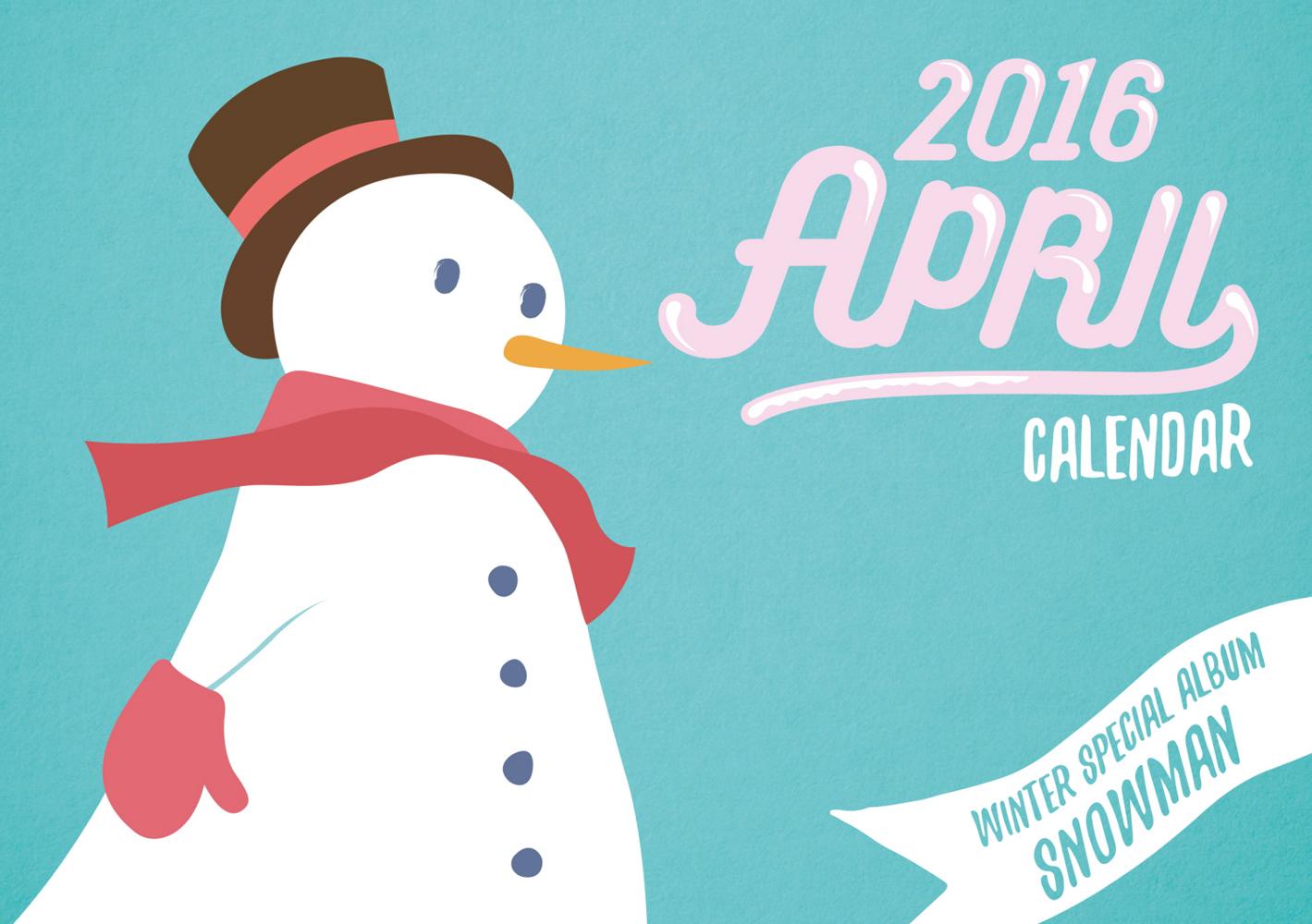[Pre] APRIL : Winter Special Album - Snowman