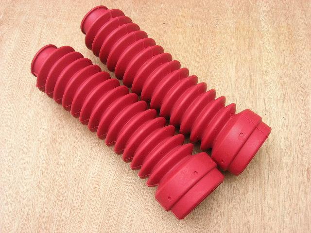 ยางหุ้มโช๊ค DT125 DT175 DT250 สีแดง เทียม งานใหม่