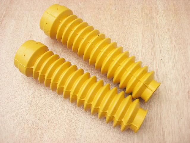 ยางหุ้มโช๊ค DT125 DT175 DT250 สีเหลือง เทียม งานใหม่