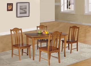 ชุดโต๊ะอาหาร 4 ที่นั่ง ดีไซน์สวย ที่นั่งเป็นไม้ทั้งแผ่น คุณภาพส่งออก