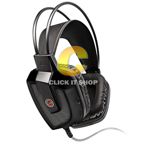 Headset (7.1) Neolution E-Sport Nova (Black)
