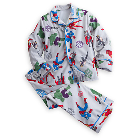 z The Avengers Pajama Set for Boys - Personalizable