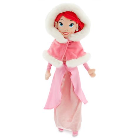 z Ariel Plush Doll - The Little Mermaid - Holiday - Medium - 21''