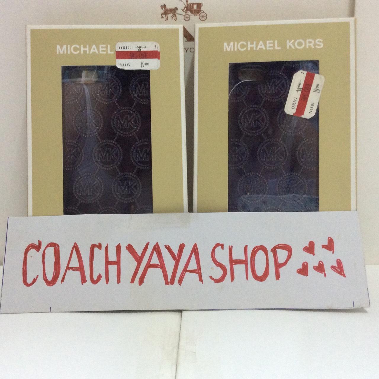 ***พร้อมส่งค่ะ***Michael Kors เคสไอโฟน 5 , 5s สีดำ