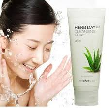 The Face Shop Herb Day 365 Cleansing Foam aloe 170ml