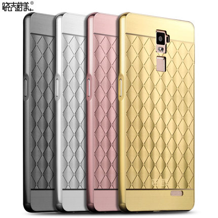 เคส OPPO R7 Plus - Grid Metalic Case [Pre-Order]