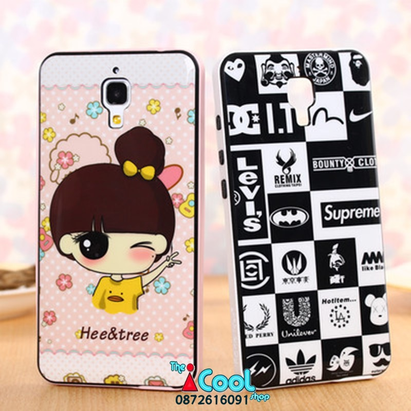 เคส Xiaomi Mi 4 - Cartoon silicone case[Pre-Order]