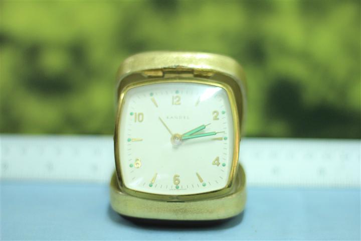 T0658 นาฬิกาปลุกเยอรมันโบราณ Kandelส่ง EMS ฟรี