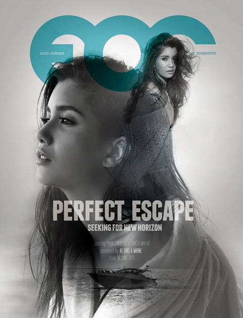 ปู ไปรยา ถ่ายฟชั่นเ็ซ็กซี่ขึ้นปกนิตยสาร FOC มิถุนายน 2013