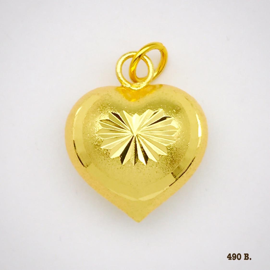 จี้หัวใจ รหัส JP019