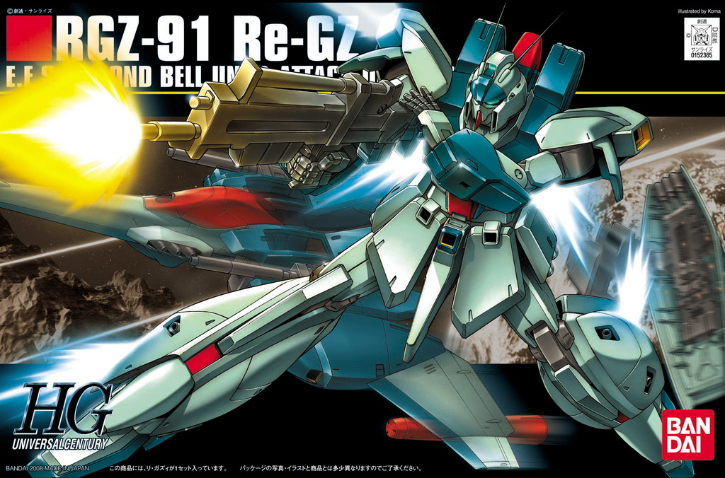 HGUC 1/144 RGZ-91 Re-GZ
