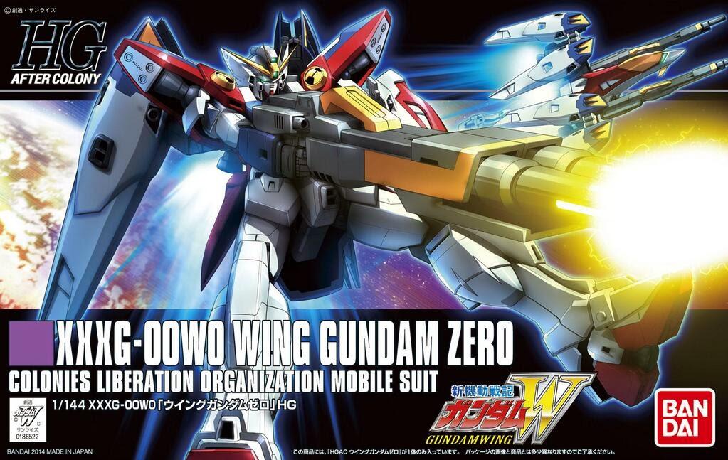 HG 1/144 Wing Gundam Zero