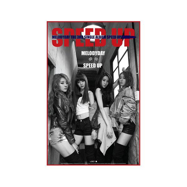 Melody Day - Single Album Vol.3 [SPEED UP] + โปสเตอร์ พร้อมกระบอกโปสเตอร์